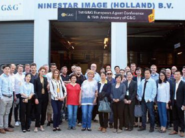 Ninestar held First G&G European Distributor Convention in the Netherlands